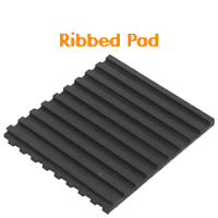 Ribbed Mounting Pad