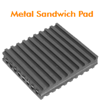 Metal Sandwich Pads