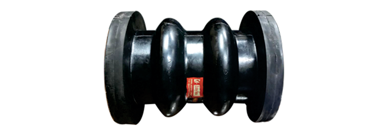 Double-Arch Rubber Bellow