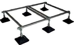Strutfoot Flat Roof Support System