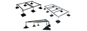 Strutfoot Flat Roof Support System