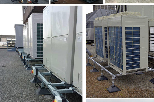 Strutfoot Flat Roof Support System2