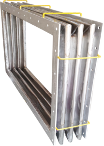 Easyflex supplies Rectangular Metallic Bellow for Steel Plant