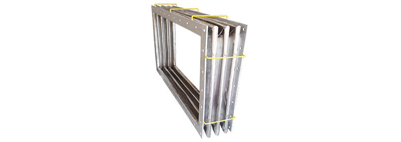 Easyflex supplies Rectangular Metallic Bellow for Steel Plant