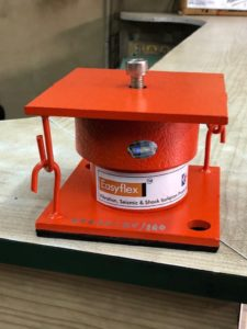 Auric Vibration Isolator for Pump