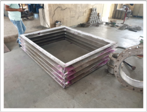 Large sized MS Bellows for Air Quality Control Equipment